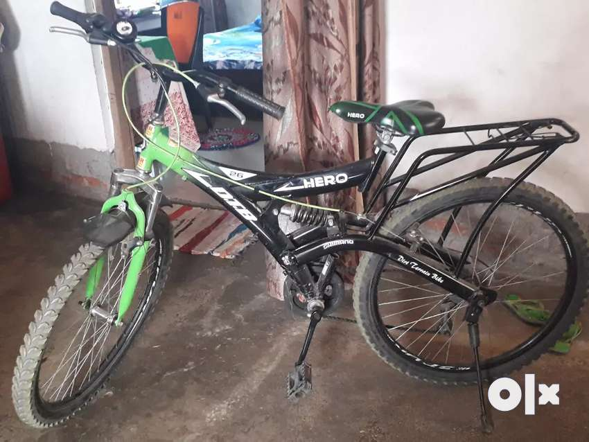 03ebb00623e Hero Dtb 26t 6 gear 2 month used real price 7500 selling price 5500 ...
