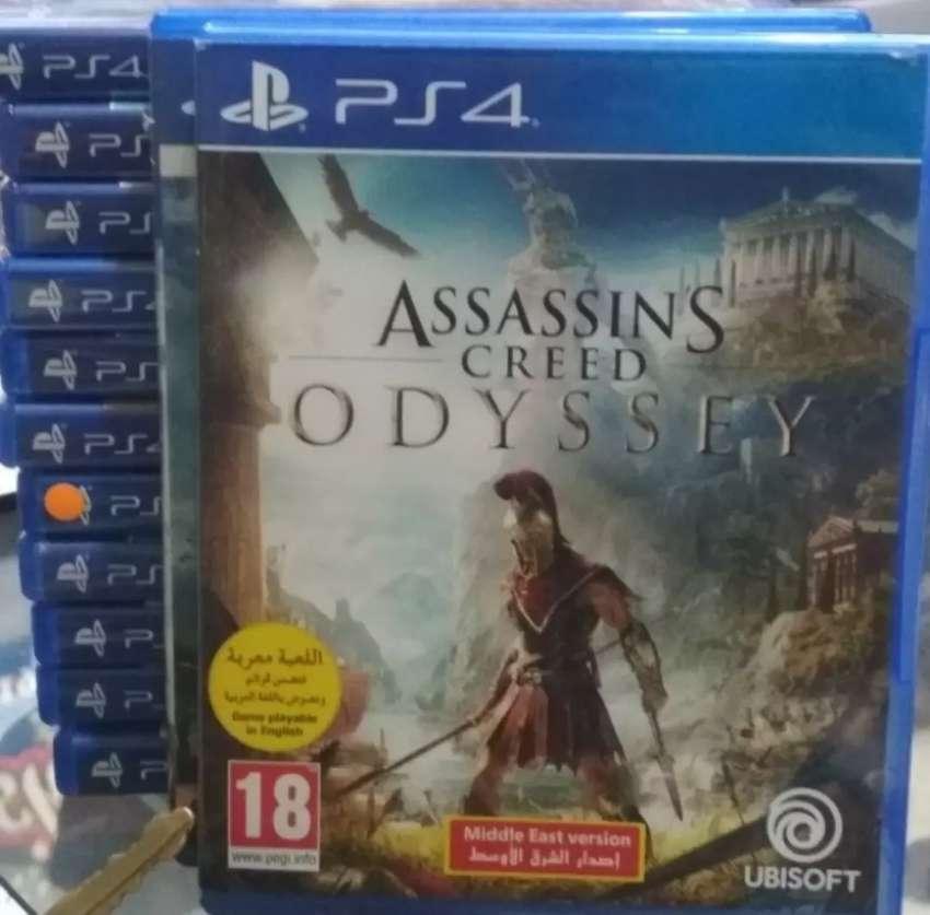 Kaset Bd Ps4 Original Game Assassins Creed Odysey Games