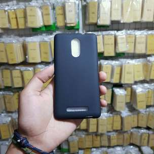 Case Midnight Blackmatte Xiaomi Redmi Note 3 Black Matte