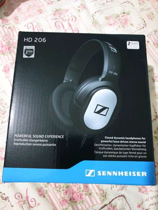 32c72c96c13 Tampilkan gambar. Close [x]. Sennheiser HD 206 Closed-Back Over Ear  Headphones ...