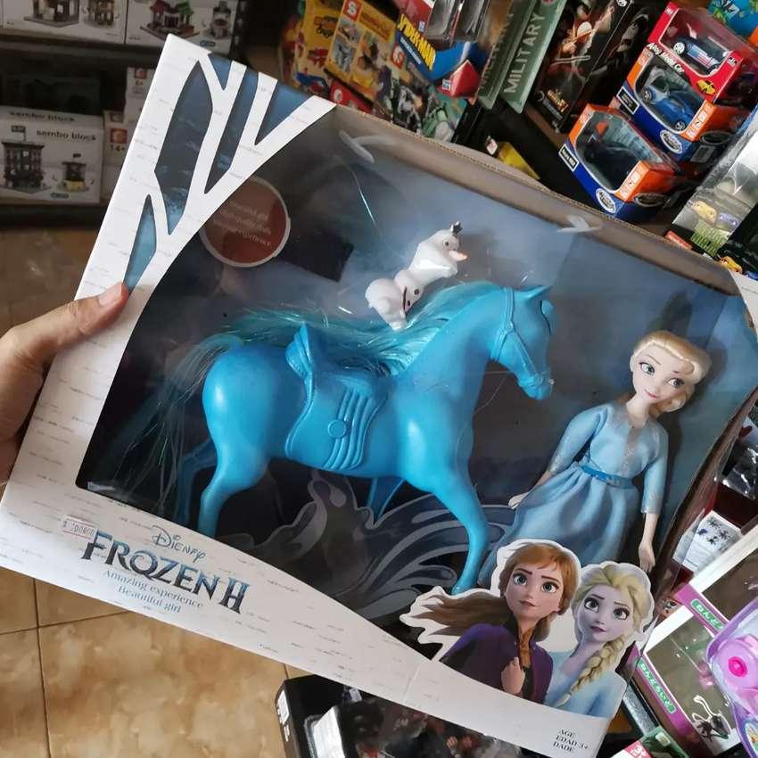 Boneka Frozen Elsa Olaf Dan Kuda Boneka Mainan Anak 770651545