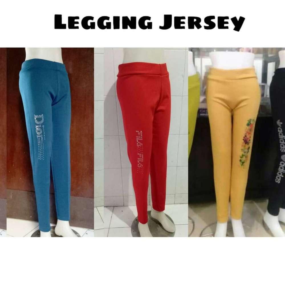 Celana Legging Bahan Scuba Fashion Wanita 751452938