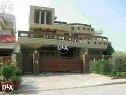 12 Marla ground portion For rent in Johar town Lahore