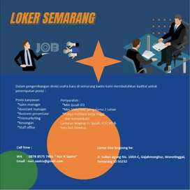 Lowongan Kerja Cari Lowongan Terbaru Di Semarang Kota Olx Co Id