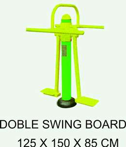 TOP Double Swings Board Alat Fitnes Outdoor