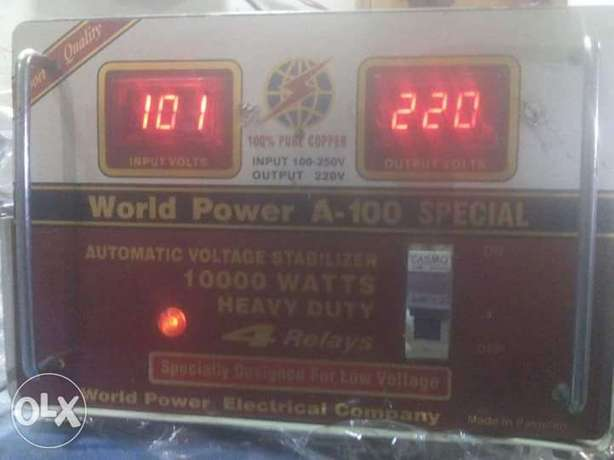 Automatic voltage stabilizers for a.c