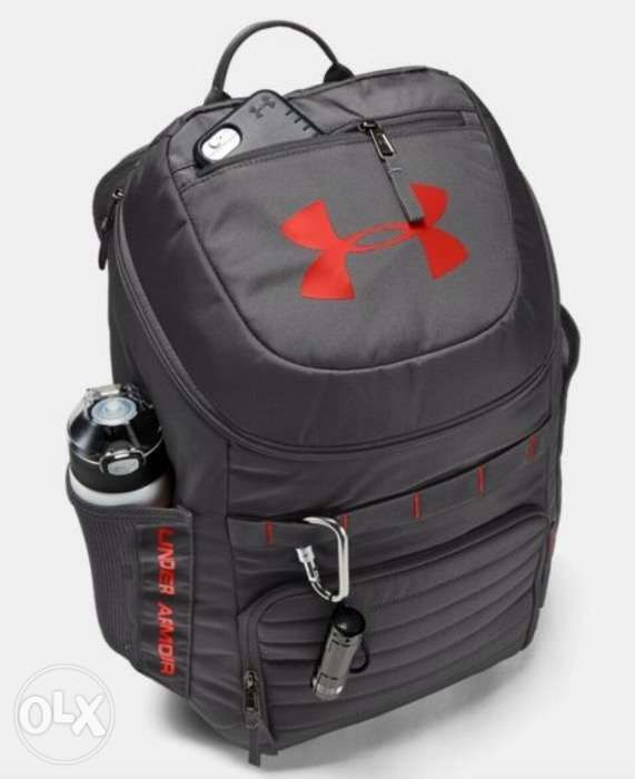 e0d87f5351 AUTHENTIC Under Armour UA Undeniable 3.0 Backpack Grey Red in San ...
