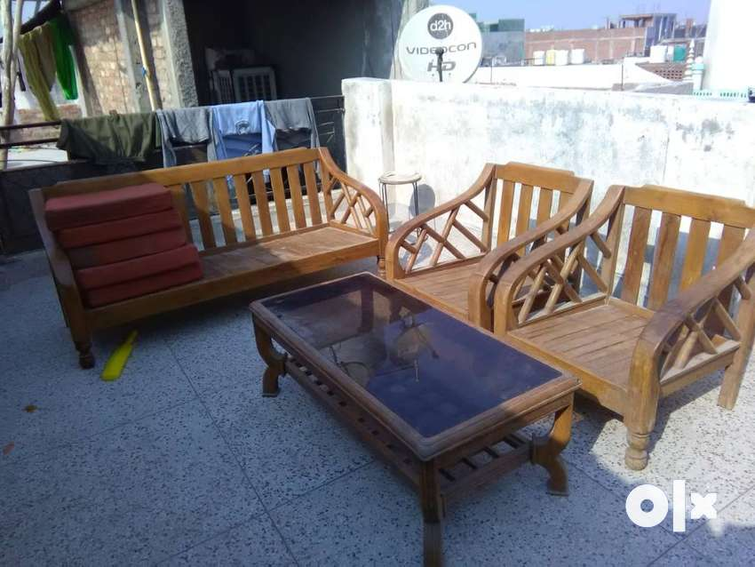 Wooden Sofa Set With Table Sofa Dining 1589277850