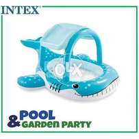 Intex 57125 whale shade baby pool for kids.