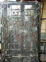 Steel doors with new style