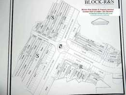 7 marla New city S block street 1 plot for sale Very Cheap price wah