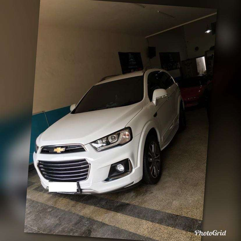 Chevrolet Captiva 2017 >> All New Chevrolet Captiva 2017 Km 7000an Dokter White Malang
