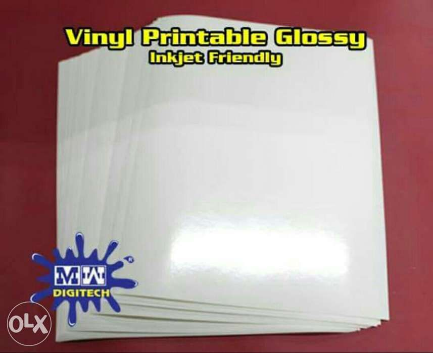 picture about Printable Vinyl Sticker Paper titled Printable Vinyl Sticker Shiny P60 for every pk within Caloocan, Metro