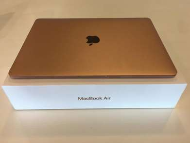Cash dan KReDiT Macbook Air 2018 MREE2 [GOld/13inch/i5/8GB/128GB]DP2j