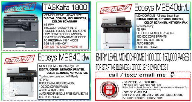 Copier Printer and Scanner - Xerox Machine Photocopier A3 ...