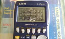 Casio fx-9750G 2 usb power graphic calculator for sell