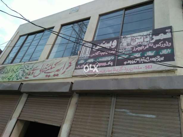 Floor available for rent at grand battery stop Multan road