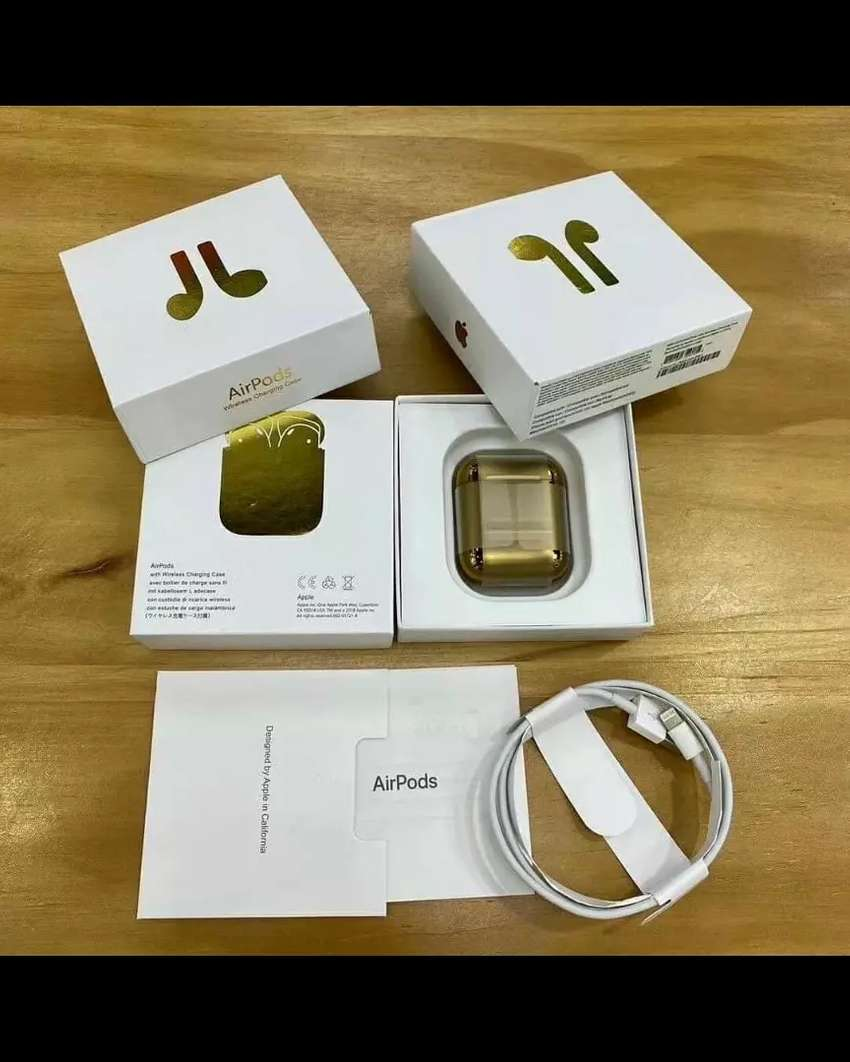 Airpods 2 gold Colour - Accessories - 1023299819