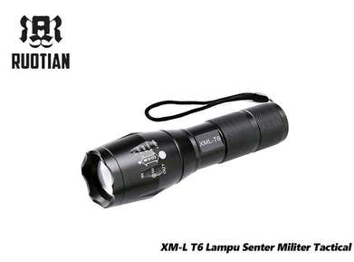 Senter Tactical Super Terang