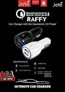 Car Charger Jete Raffy