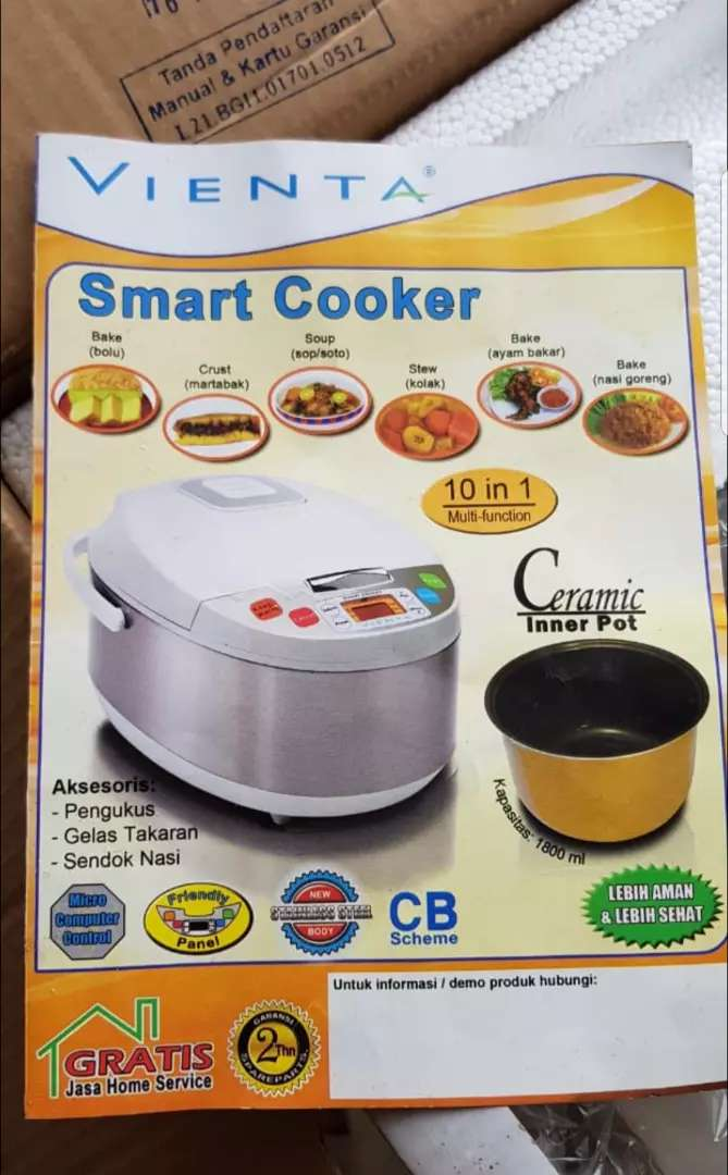 Promo Special Vienta Smart Cooker 10 In 1 Multi Function Elektronik Rumah Tangga 796235601