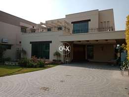 25 Marla Designer full house semi furnished for rent in dha phase 5