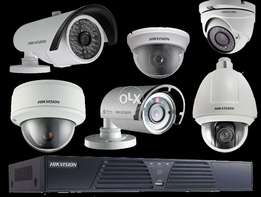 4-CCTV Cameras Full HD with Complete Package(Live view on an Mobile)