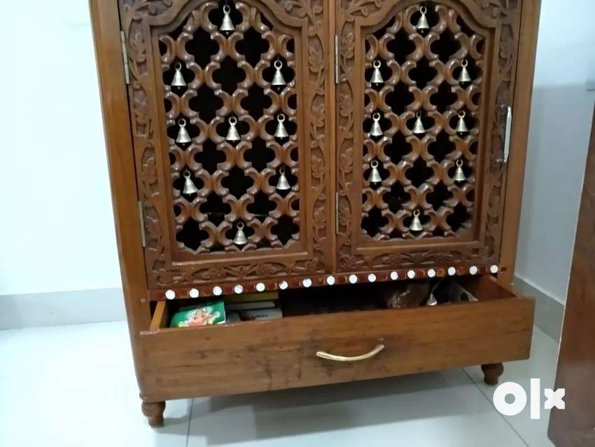 Teak Wood Beautiful Pooja Temple Mandir Other Household