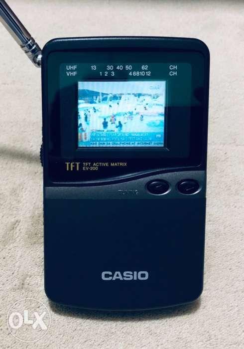 68bb8dd7e80 Casio EV-200 Executive Portable TV in Naga City