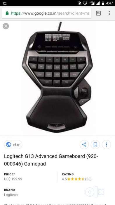Gamepad For Professional Gamer Logitech G13 - TVs, Video