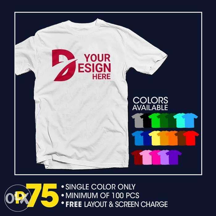f1f24b4f Rush Silk screen Printing No minimum Order in Manila, Metro Manila ...
