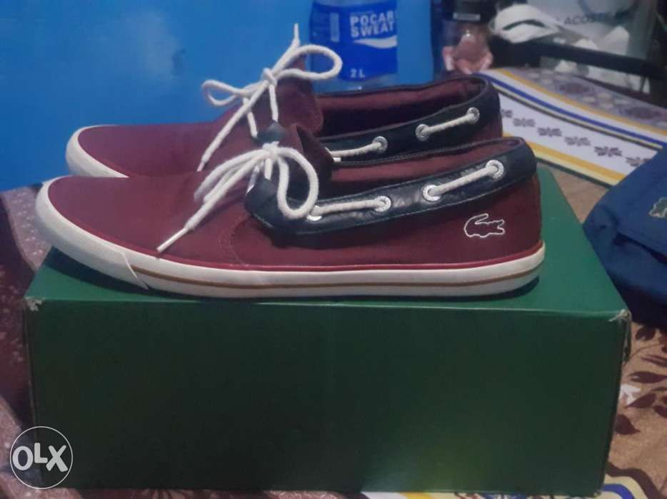 19fe37ac1 Lacoste Slip on shoes in Pasig