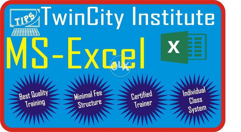Ms Excel Course In Rawalpindi Islamabad Rawalpindi Education