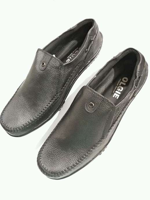 Sepatu Pria Casual Olgie Shoes Collection New 100% Kulit Sapi Asli ... b5a15a5188