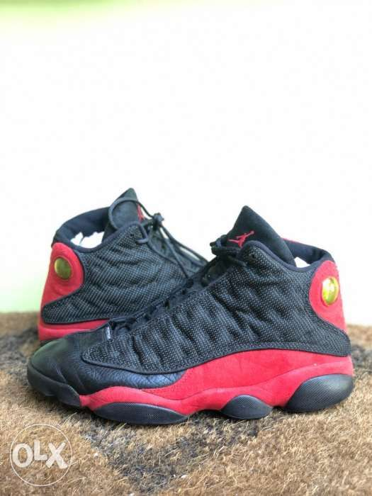 buy online d7f1b 8092d Nike Air Jordan 13 XIII Retro Black Red BRED 2013 Shoes Sz 105 ...