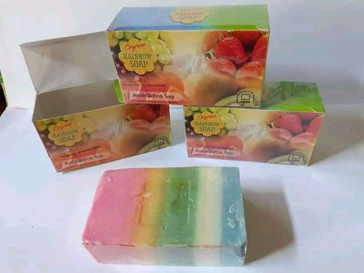 Image result for rainbow nasa soap