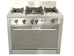Commercial oven with Stove at factory price NeW