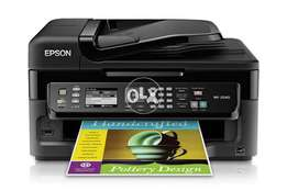 Epson WorkForce WF-2540 ADF CISS-Ready For Pro Printing