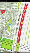 Facing park 125 sq yard plot File Bahria Town Karachi