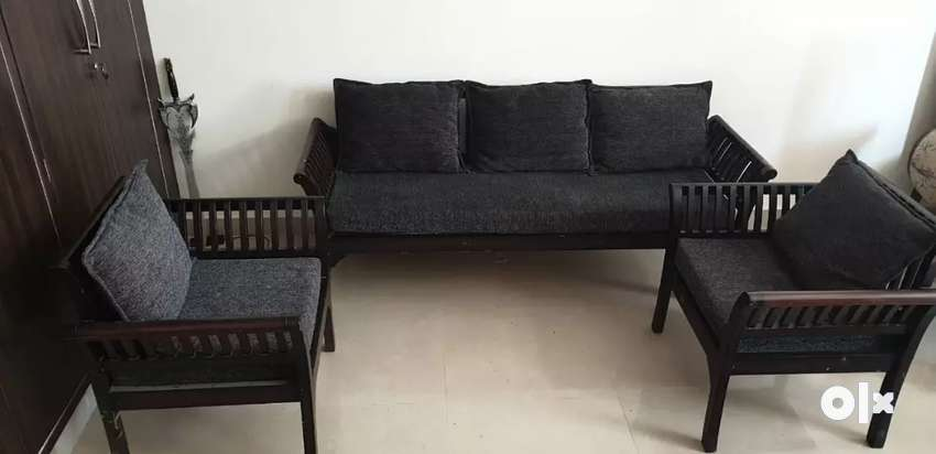 5 Seater Classic Style Wooden Sofa Sofa Dining 1572522262