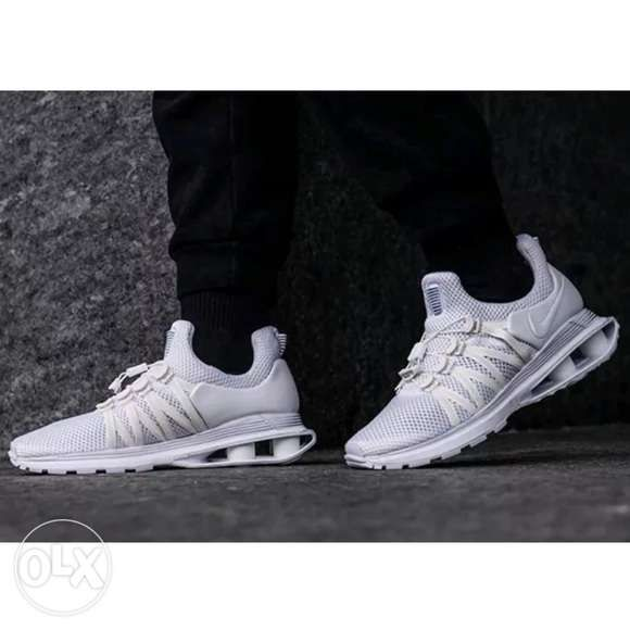 a6bfd5768 Nike Shox Gravity triple white colorway Authentic brand new in ...