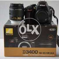 Nikon d3400 brand new just daba open 10 mnths offical warenty