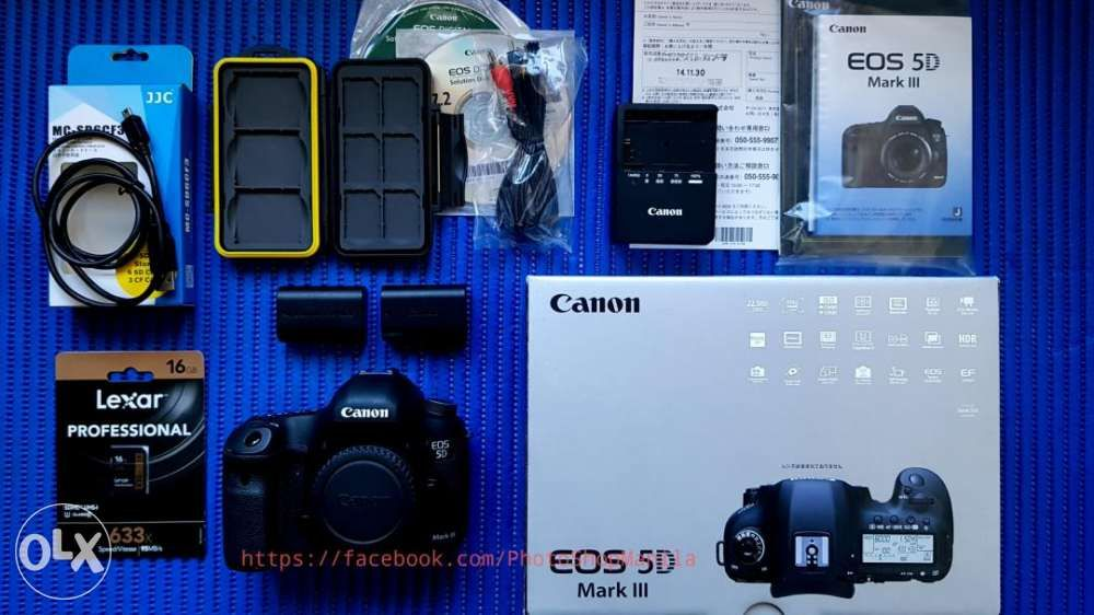 Canon Eos 5d Mark Iii Body With Freebies In Pasay Metro