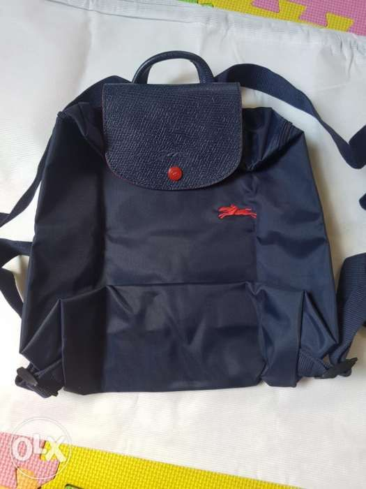 46dc12e5ebb Longchamp le pliage club backpack Navy kate tory in Marikina, Metro ...