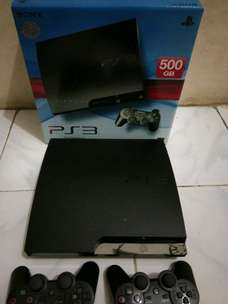 ps3 slim 500gb seri 2501B