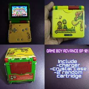 second original game boy sp 101 kondisi prima lancar jaya