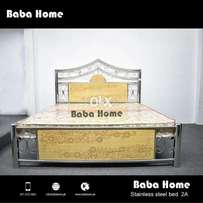 Stainless Steel Bed at Baba Home