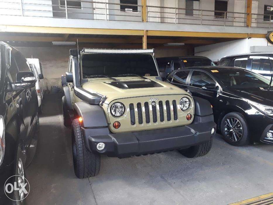 Sponsored Jeep Wrangler Rubicon 2014 AT CRD Diesel