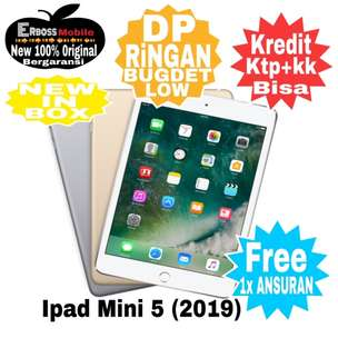 Ipad Mini 5 New 2019 [64GB/Wifi Only] Cash/kredit Dp2jtaan Call/Wa