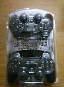 Game pad usb mtech doble black